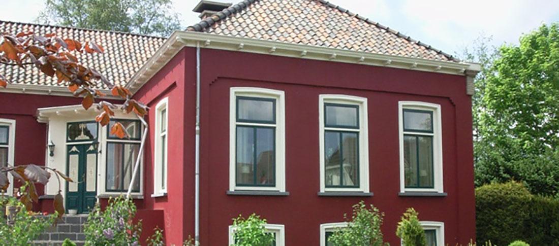 """""""verbouw voormalig schoolgebouw tot woning"""""""